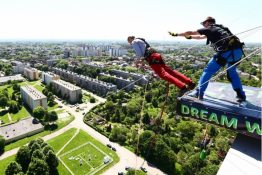 Sosnowiec Atrakcja Dream Jump ŻYLETA SOSNOWIEC 80M